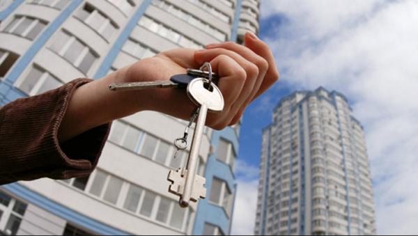 Ключи от собственной квартиры.