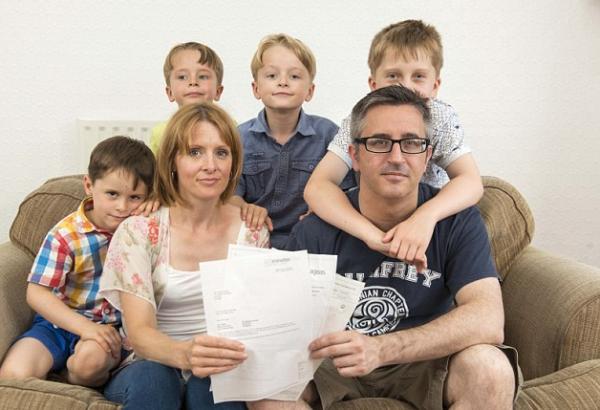 Многодетная семья может рассчитывать на финансовую помощь о государства.