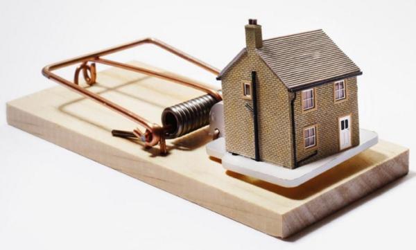 Проблема с реализацией залоговой недвижимости.