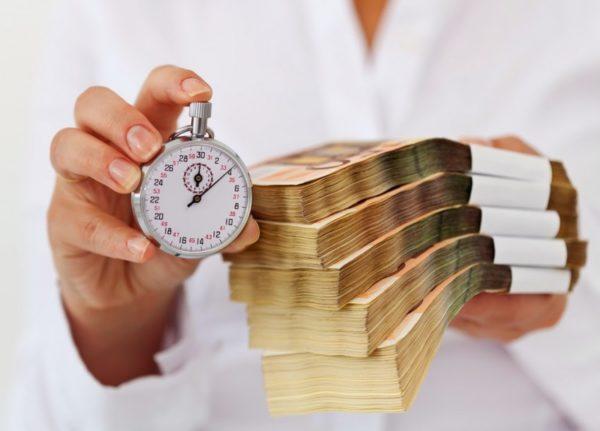 Срок погашения краткосрочных займов